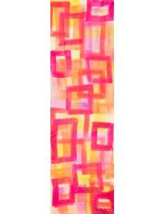 Silk Crêpe Shawl or Foulard