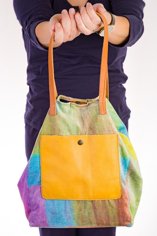 bolso de verano de terciopelo de algodon de colores